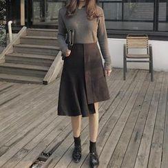 Tiny Times - A-Line Midi Skirt
