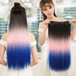fama - Gradient Straight Long Half Wig