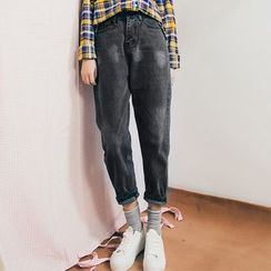 Primula - Washed Baggy Jeans