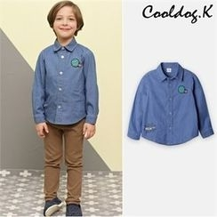 WALTON kids - Boys Embroidered Shirt