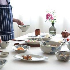 Kawa Simaya - Floral Ceramic Bowl / Plate