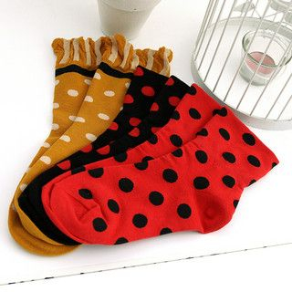 59 Seconds - Set of 3: Polka Dot Socks