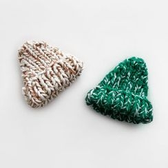 NIPONJJUYA - Mélange Chunky-Knit Beanie