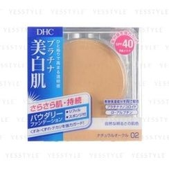 DHC - Lasting White Powdery Foundation SPF 40 PA+++ (#02) (Refill)
