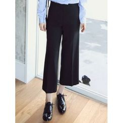 LOLOten - Zip-Side Wide-Leg Dress Pants
