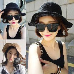 FROME - Linen-Blend Bucket Hat