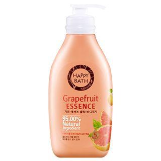 HAPPY BATH - Grapefruit Essence Cooling Body Wash 500g  + 250g