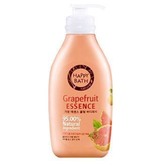 HAPPY BATH - Grapefruit Essence Cooling Body Wash 500g  + 250g