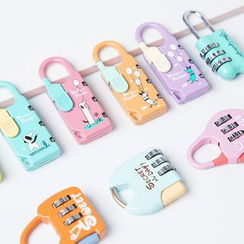 Class 302 - Print Mini Travel Padlock
