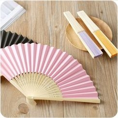 Eggshell Houseware - Plain Hand Fan