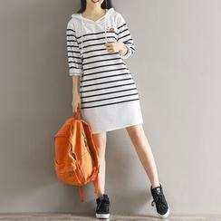 Fancy Show - Striped Shift Dress