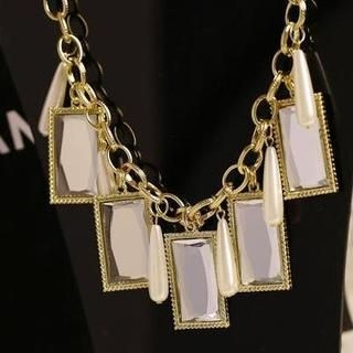 Love Generation - Gemstone Statement Necklace
