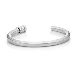 Kenny & co. - Hexagonal Steel Bangle