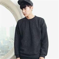 MITOSHOP - Colored Ribbed Sweatshirt
