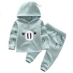 Endymion - Baby Set: Print Hoodie + Sweatpants