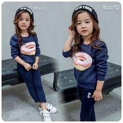 Rakkaus - Kids Printed Pullover
