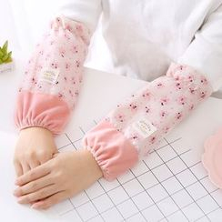 Fun House - Floral Print / Bow Embroidered Sleeve Guards