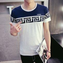 Besto - Print Short Sleeve T-Shirt