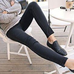 NEUF - Maternity Fleece-lined Skinny Jeans
