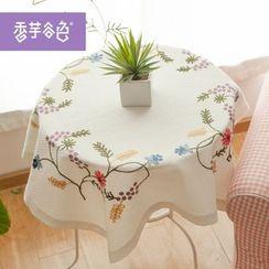 Tarobear - Embroidered Tablecloth
