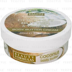 Beauty Formulas - Coconut Butter and Vitamin E Body Butter Cream