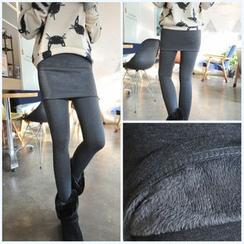 Ashlee - Inset Skirt Leggings