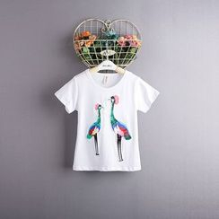 Kidora - Kids Sequined Short-Sleeve T-Shirt