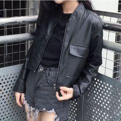 Shopherd - Faux Leather Jacket