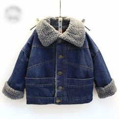 Spring Swallow - Kids Denim Coat