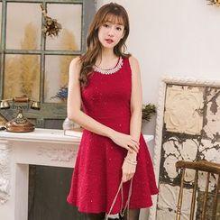 Tokyo Fashion - Beaded A-Line Dress