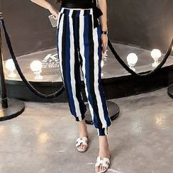 Fashion Street - Stripe Harem Pants