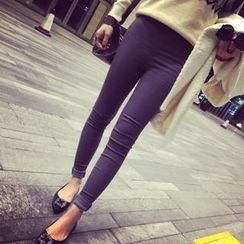 LOLO - High Waist Fleece-Lined Leggings