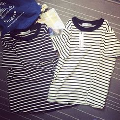Pura - Striped Short Sleeve T-Shirt