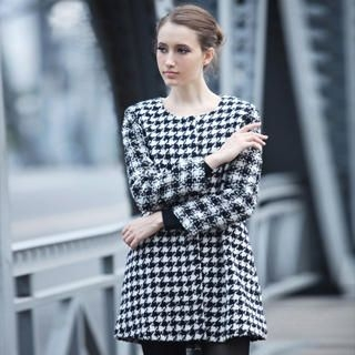YiGelila - Houndstooth Coat