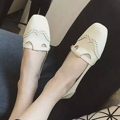 QQ Trend - 布洛克平跟鞋