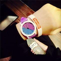 Bingle - Color Block Strap Watch
