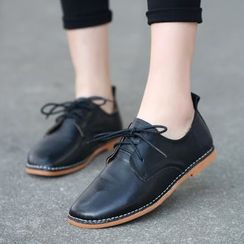 Forkix Boots - Plain Lace Ups