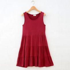 Lacyland - Maternity Tiered Tank Dress
