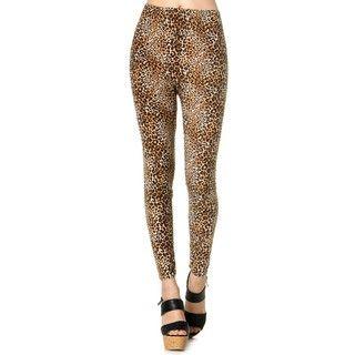 59 Seconds - Leopard-Print Leggings