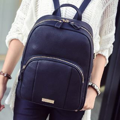 Youme - Faux Leather Backpack