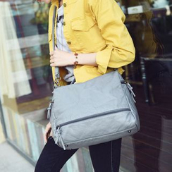 Bag Affair - Faux Leather Carryall Bag