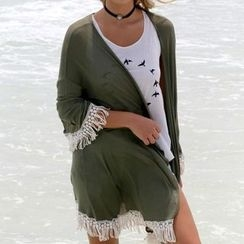 Twinkle Dream - Fringed Cover-up
