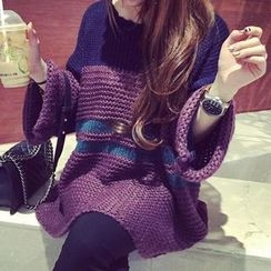 芙苪FR - 插色粗織毛衣