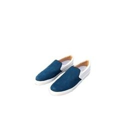 Ohkkage - Color-Block Slip-On Shoes