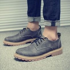 Shino - Lace-Up Casual Shoes