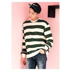 HOTBOOM - Striped Sweatshirt