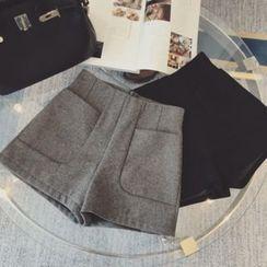 Little Bean - High-Waist Shorts
