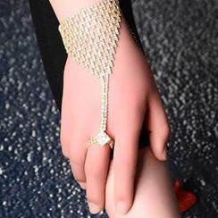Seirios - Rhinestone Bracelet/Anklet