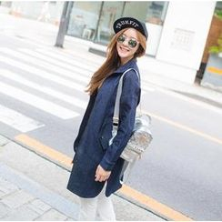 Romantica - Zip Denim Coat