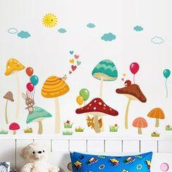 樂宅 - 卡通牆貼
